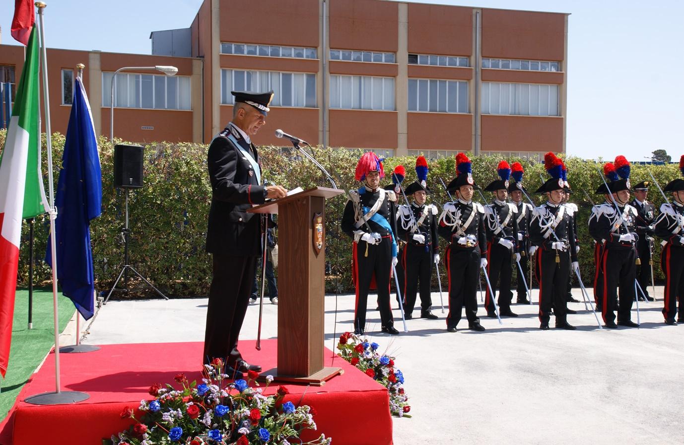 Celebrato ad Avola il 202° Annuale della fondazione dell'Arma dei Carabinieri