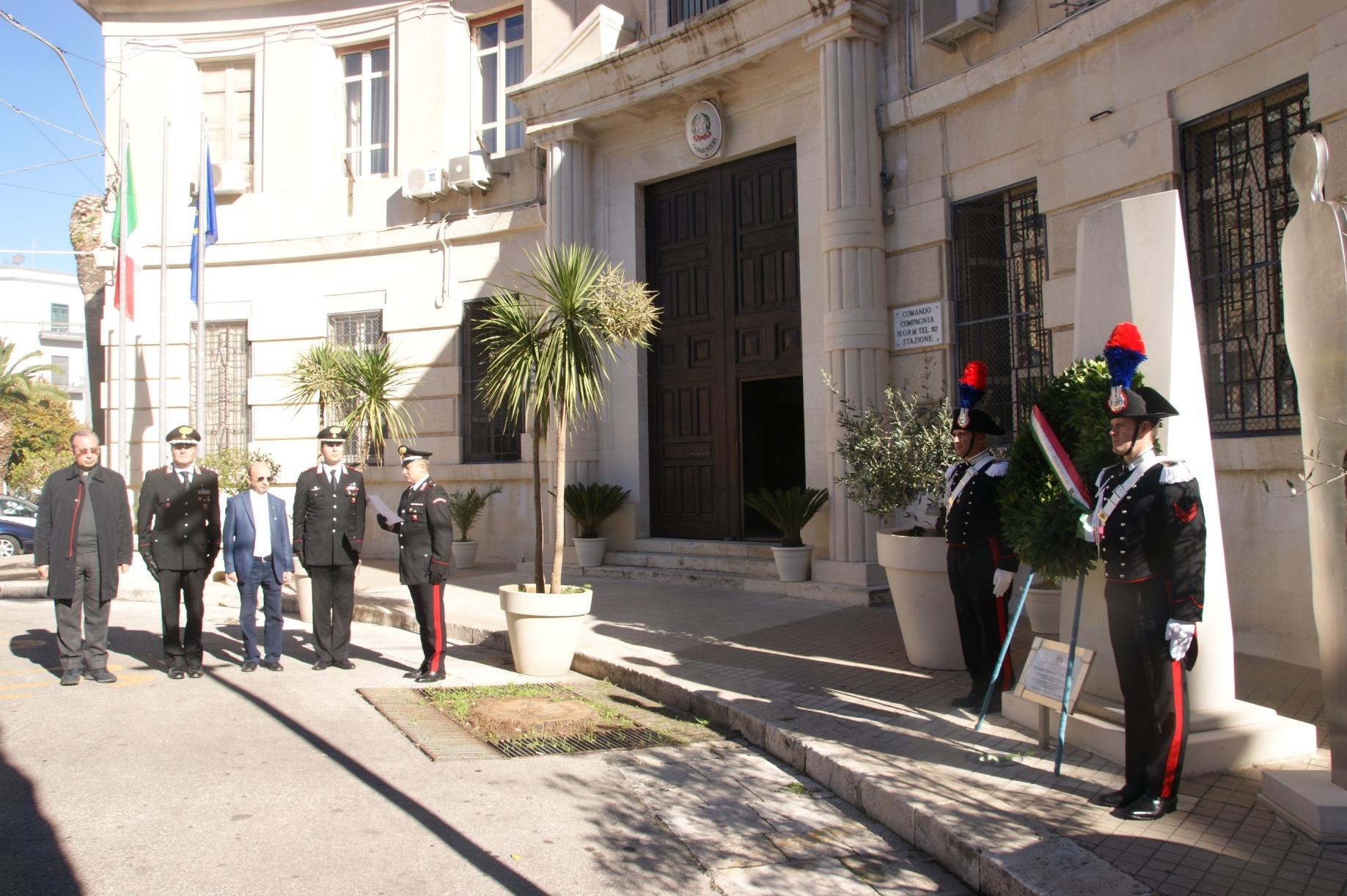 Ragusa, cerimonia in ricordo dei caduti della strage di Nassirya