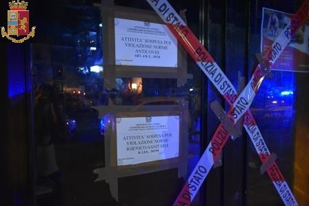 Catania, la polizia al ' Sabor Latino' di piazza Carlo Alberto: sospesa attività