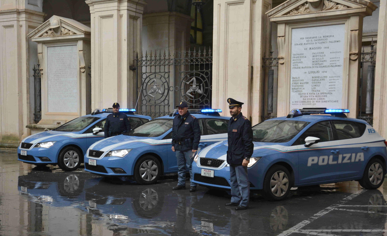Ragusa, 4 nuove auto alla Polizia di Stato per il controllo del territorio