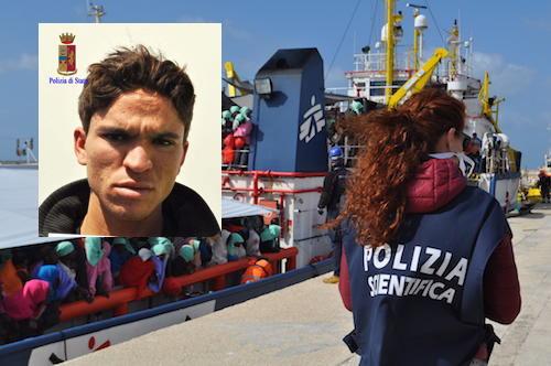 Scafista recidivo arrestato dalla polizia di Ragusa