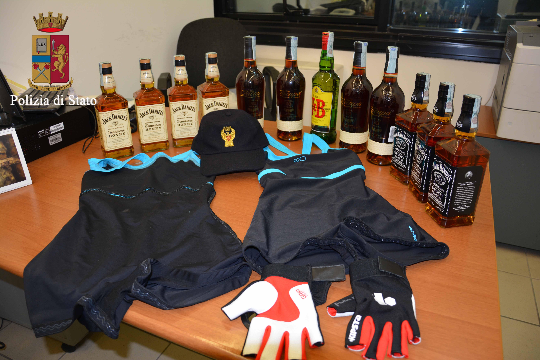 Ragusa, furto di liquori al centro commerciale: fermati 4 rumeni