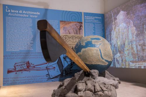 Siracusa, inaugurata la mostra dedicata ad Archimede
