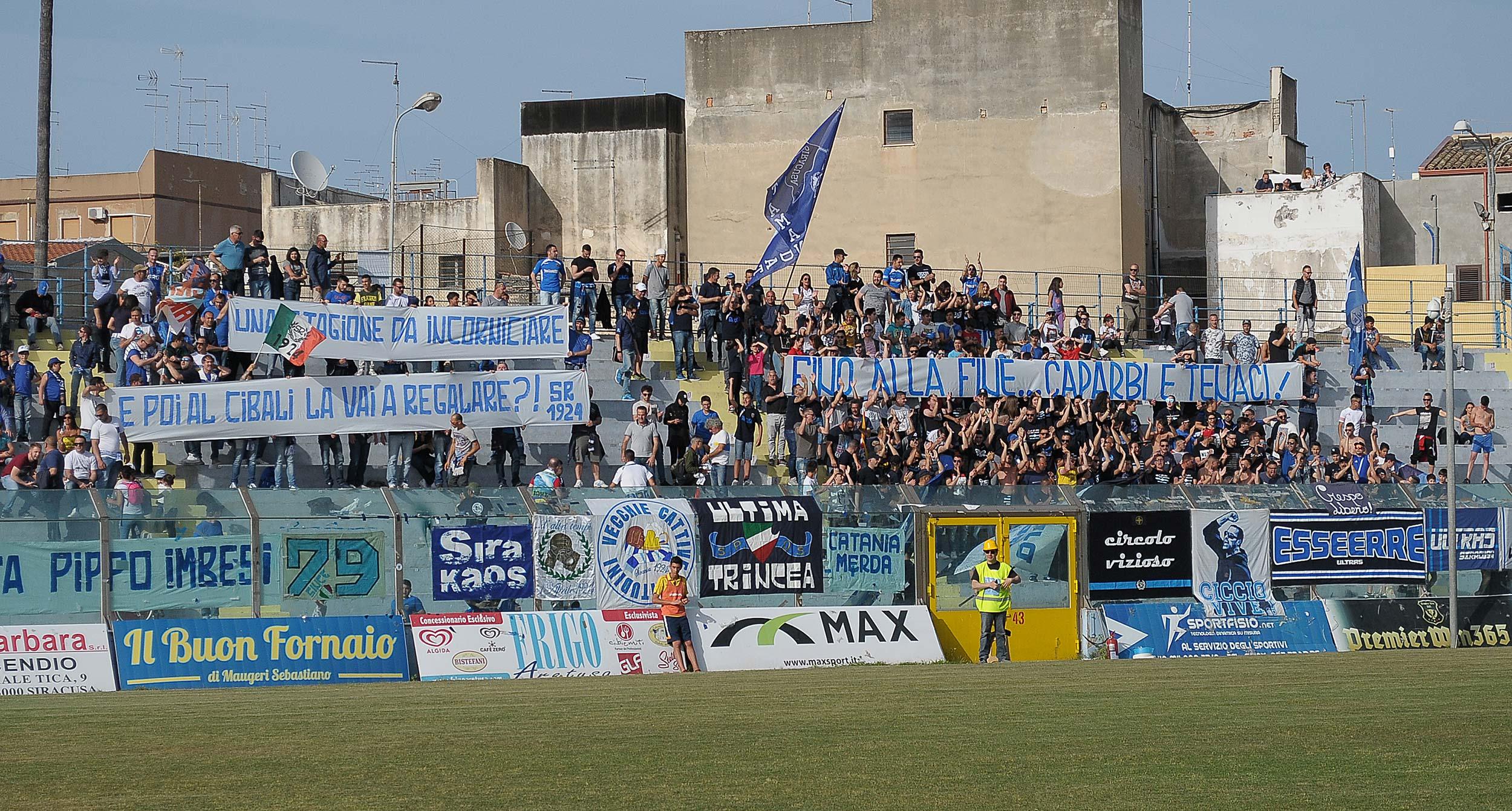 Il Siracusa entra nei play off ma stecca in casa contro il Francavilla (LA FOTOCRONACA)