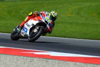 Dominio delle Ducati nel Gran Premio d'Austria, Valentino Rossi è  quarto