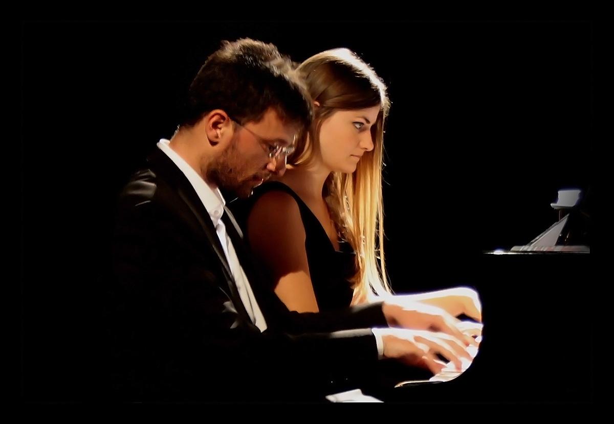 Concerto pianistico a 4 mani  a Floridia di Argentieri e Notarnicola