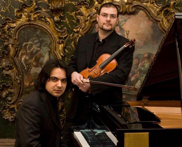 Floridia, il violinista Nicosia e il pianista Spina in concerto