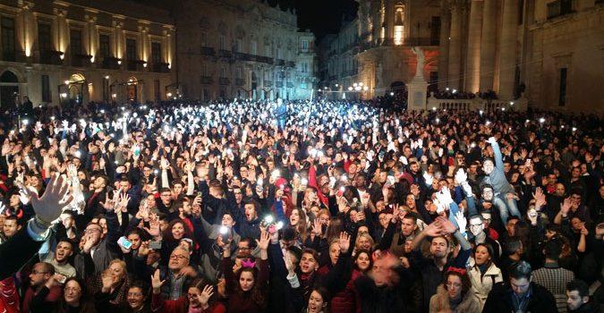 Siracusa, grande evento musicale in piazza per la notte di San Silvestro