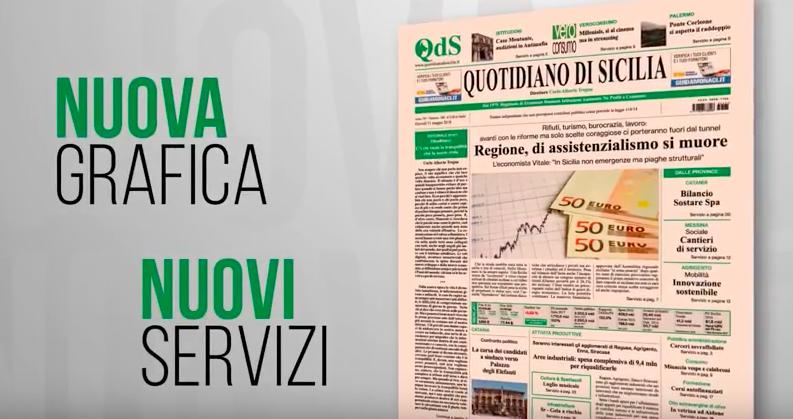 Editoria: da domani nelle edicole il nuovo Quotidiano di Sicilia