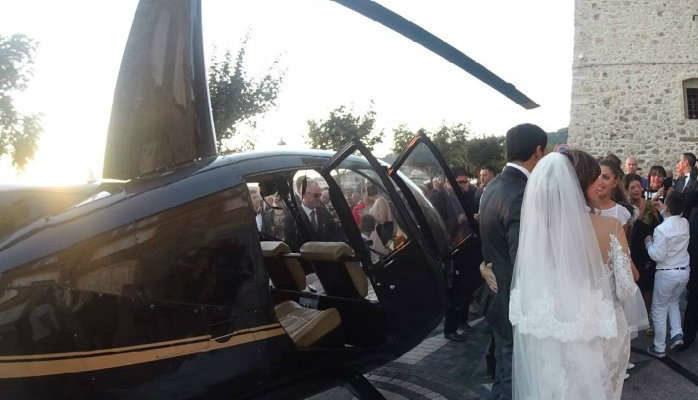 Elicottero in piazza per le nozze: si è dimesso il sindaco di Nicotera