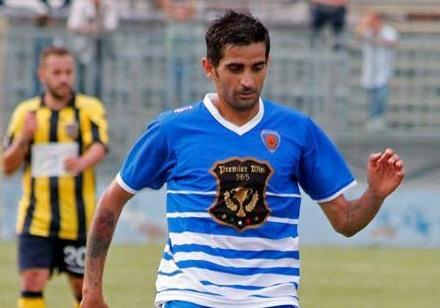Il Siracusa, passa a Leonforte: il gol partita lo realizza Emanuele Catania al 45'