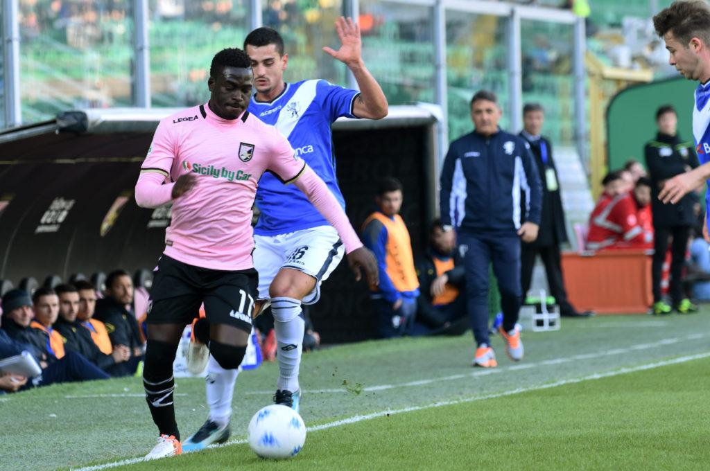 Il Palermo cede Embalo al Brescia con la formula del prestito con riscatto