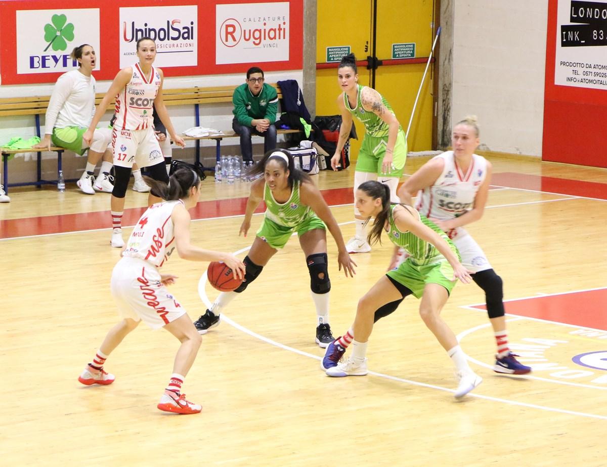 Basket donne, Ragusa sbanca ad Empoli e chiude il 2019 in testa alla classifica
