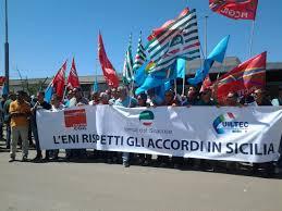 Vertenza Eni a Gela, centomila cartoline da spedire al premier Renzi