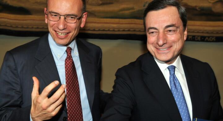"""Governo, Letta (Pd) a Draghi: """"Metodo Salvini non va"""""""