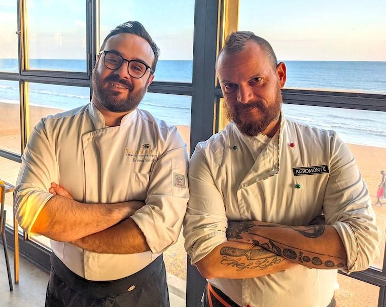 """Marina di Ragusa, rilancio del """"Met"""" con gli chef Iurato e Sorrenti"""