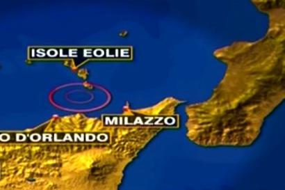 Scossa di terremoto nelle isole Eolie di magnitudo 2.3