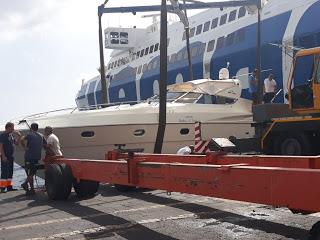 Dieci diportisti soccorsi nella notte dalla Capitaneria a Lipari