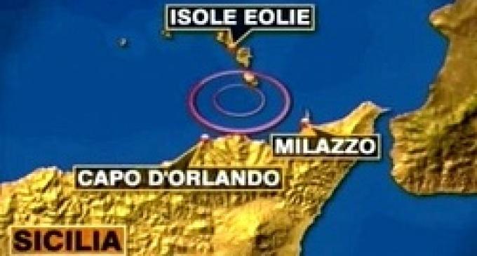 Terremoto alle Eolie (3.5) con epicentro a 10 chilometri da Malfa e Leni