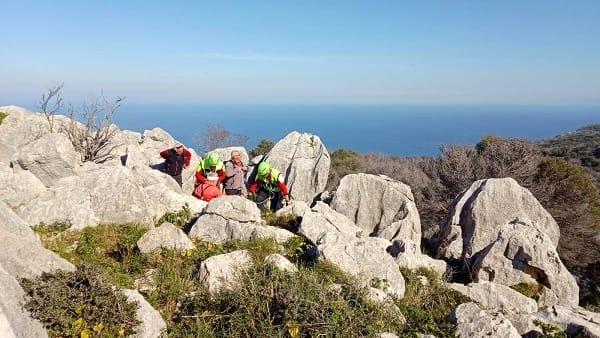 Palermo, anziano escursionista salvato sul Monte Pellegrino