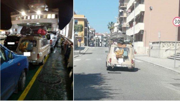 Il sindaco di Messina e la Renault 4, i francesi adesso sono a Mazzarino