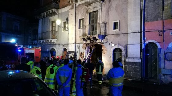 Esplosione Catania: stato dei feriti
