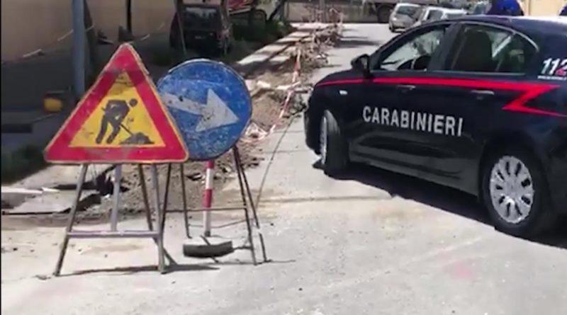 Lavori per la fibra a Messina, un arrestato per tentata estorsione