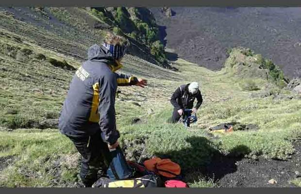Maltempo sull'Etna, soccorsi 14 turisti francesi