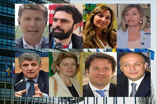 Ecco i volti degli otto eurodeputati siciliani, tre sono donne