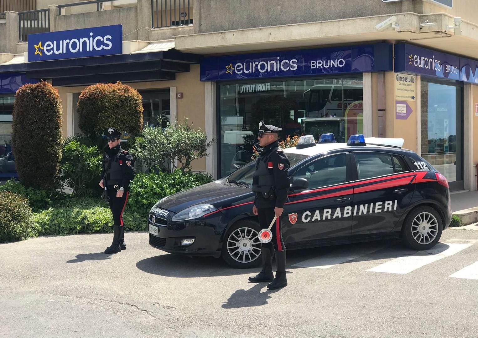 Modica, scoperti dai carabinieri i 4 autori della rapina da Bruno Euronics