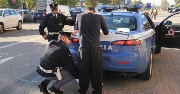 Palermo, controlli della polizia: tre arresti e cinque denunce