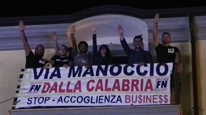 Forza Nuova contro il delegato all'accoglienza dei migranti in Calabria