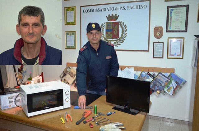 Marzamemi,  sorpreso a rubare in un appartamento: arrestato