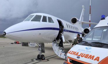 Volo Catania a Roma  dell'Aeronautica per una bimba ammalata