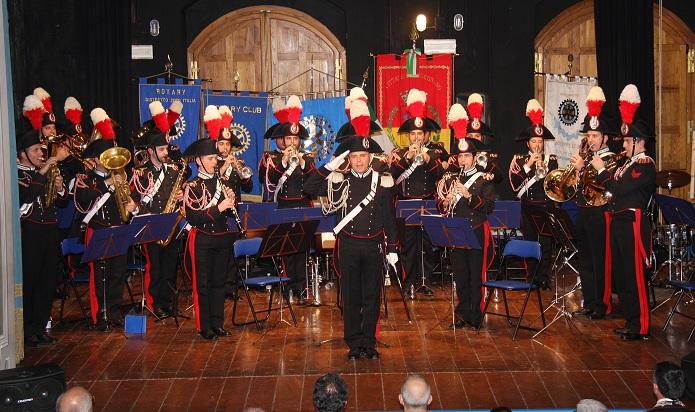 La Fanfara dei carabinieri sabato sera in concerto a Noto