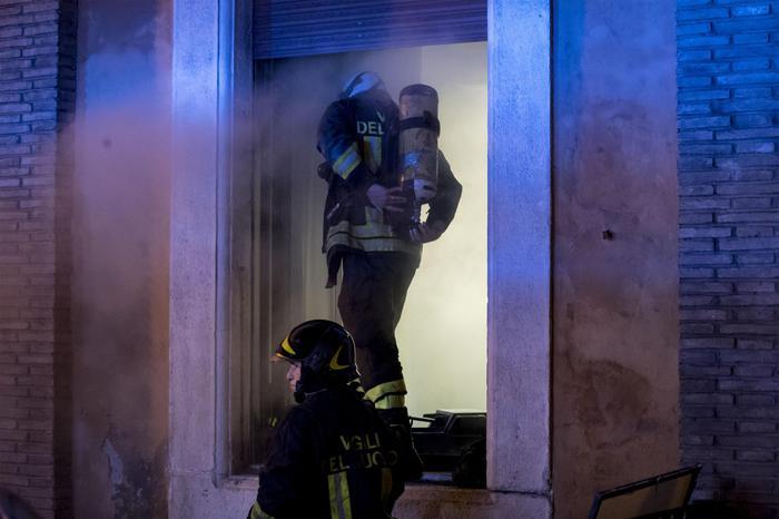Principio di incendio a Fatebenefratelli in area tecnica