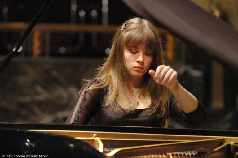 Giovane pianista ucraina domani in concerto a Palermo classica