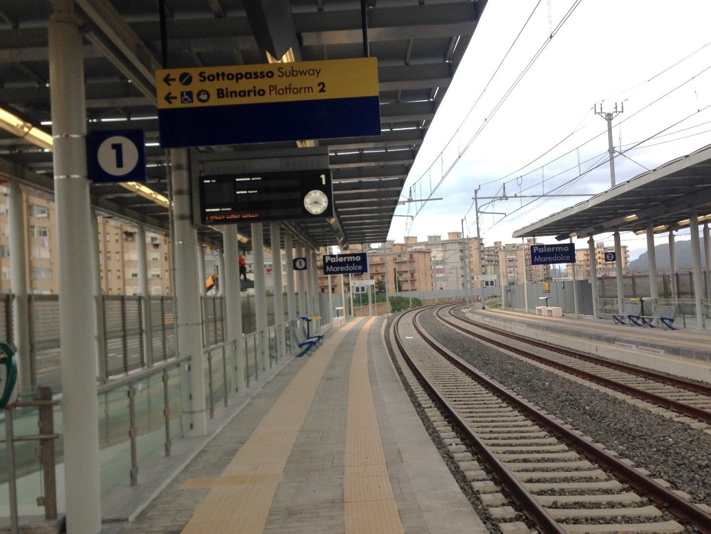 Rubava cavi di rame alla stazione 'Maredolce': arrestato a Palermo
