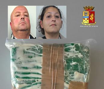 Corrieri della droga fermati a Rosolini: in auto avevano più di un chilo di cocaina