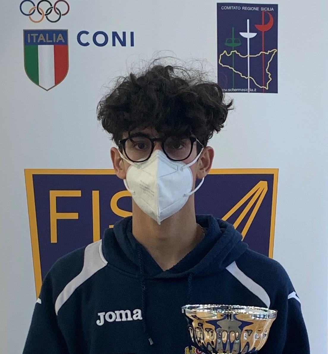 Conad Scherma Modica: Fernando Scalora 2º classificato alla prova di qualificazione Campionato Italiano Giovani