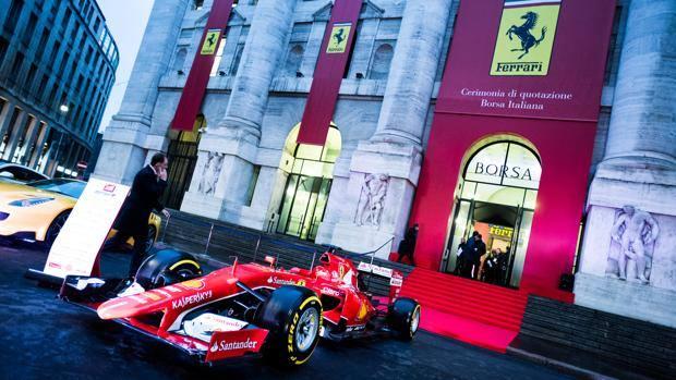 La Ferrari debutta in Borsa a Milano a 43 euro ad azione