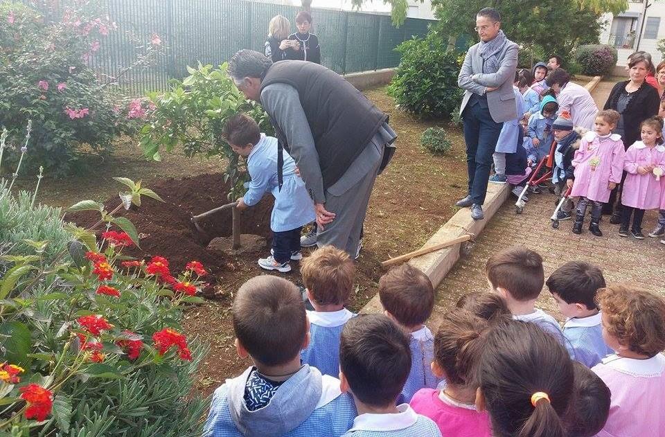 Modica, celebrata la festa dell'albero in tre scuole primarie della città