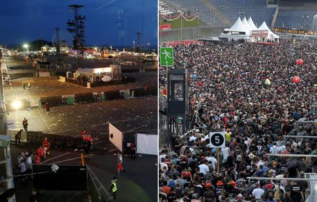 Germania, interrotto il festival Rock am Ring per