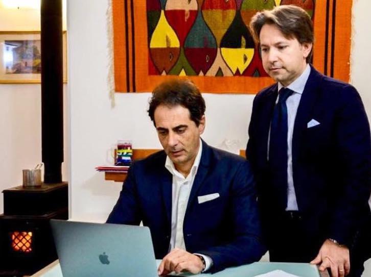 L'accoppiata Figura - Veneziano al lavoro sul programma per Noto 2021
