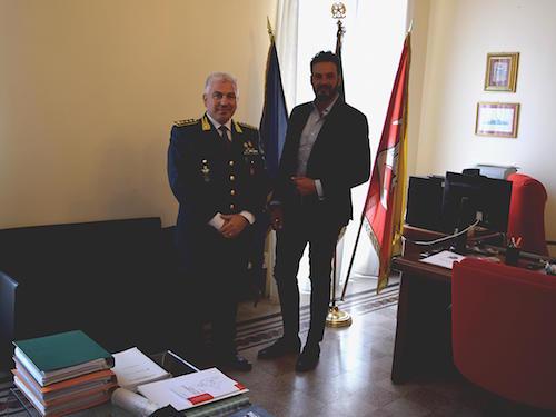 Siracusa, il sindaco Italia incontra il comandante provinciale della Gdf