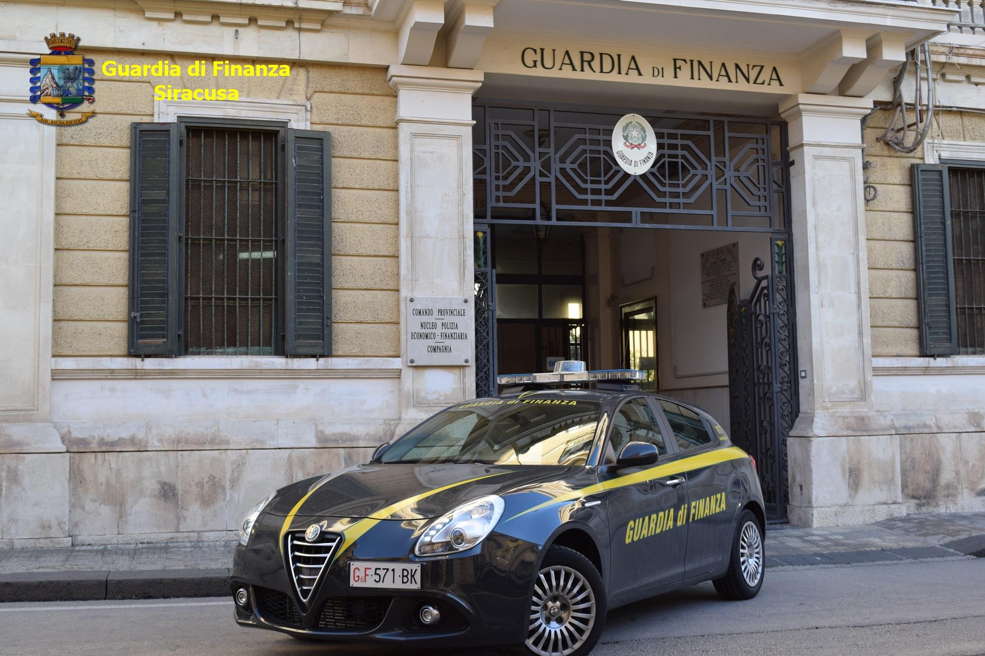 Siracusa, evasione dell'Iva: la Finanza sequestra 260 mila euro