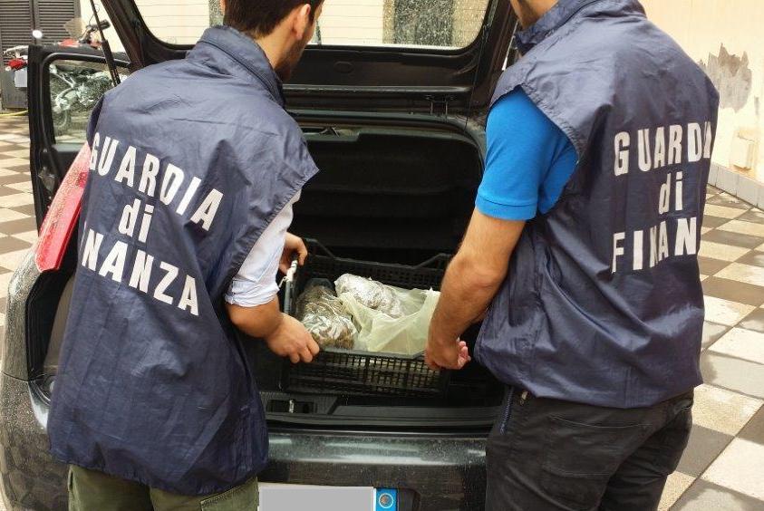 Catania, fermato al casello di San Gregorio con 3,5 chili di marijuana