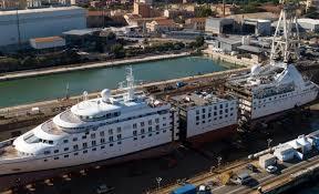 Fincantieri costruirà navi da crociera anche nel porto di Palermo
