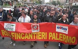 Fincantieri, a Palermo sciopero di quasi 6 mesi per 25 lavoratori
