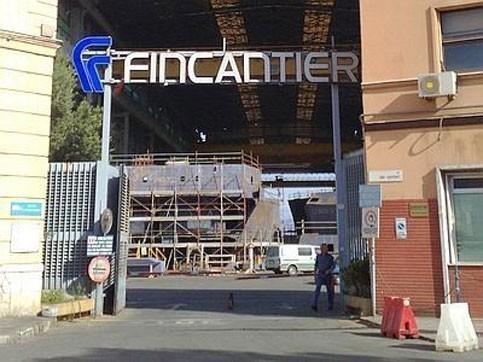 Cantieri Navali Palermo, completati i lavori nel bacino di carenaggio